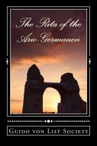 The Rita of the Ario-Germanen: GermanenOrden Series Volume 2 by Guido v. List The 55 club (2015-05-06)