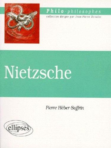 Nietzsche par Heber-Suffrin