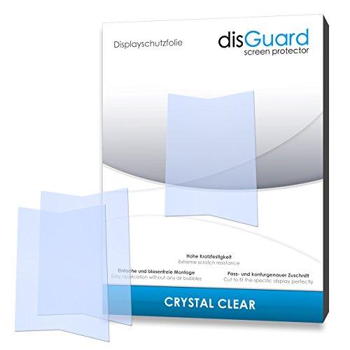 disGuard® Bildschirmschutzfolie [Crystal Clear] kompatibel mit Kazam Life R5 [4 Stück] Kristallklar, Transparent, Unsichtbar, Extrem Kratzfest, Anti-Fingerabdruck - Panzerglas Folie, Schutzfolie