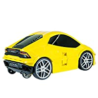 Lamborghini Huracan Yellow - Trolley bag for Kids