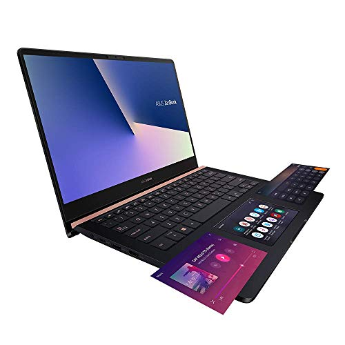 Asus ZenBook Pro 14 UX480FD 90NB0JT1-M01040 Notebook (35,5 cm, 14 Zoll Full HD, Intel Core i7-8565U, 16GB RAM, 256GB SSD, NVIDIA GeForce GTX 1050 Max-Q 4GB, Win 10 Home) deep dive blue metal Duo Laptop Notebook