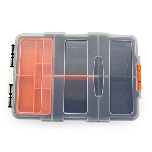 FiedFikt Kunststoff-Aufbewahrungsbox für Werkzeug/Koffer, Schraubenschlüssel, für Hardware (Farbton Unterwäsche Frauen)