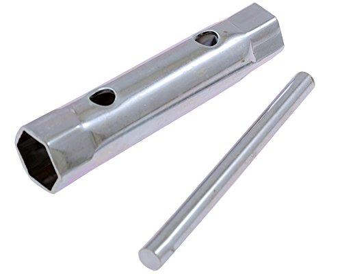 Zündkerzenschlüssel für 10+12 mm Kerzengewinde. Schlüsselweite 16 mm und 18 mm
