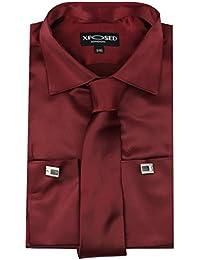 Xposed - Chemise habillée - Uni - Homme