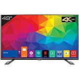 Kevin 124.5 cm (49 inches) KN49UHD 4K LED Smart TV (Black)