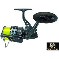 Sea Fishing Reel Hunter Pro 70s Surf With 20lb Line Black Chrome Spool New!