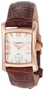 Stuhrling Original 145L.1245E2 - Reloj digital de cuarzo para mujer con correa de piel, color marrón de Stuhrling Original