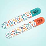 Budds Buddy Plastic Nail Filer for Baby (Multicolour) - Pack of 2
