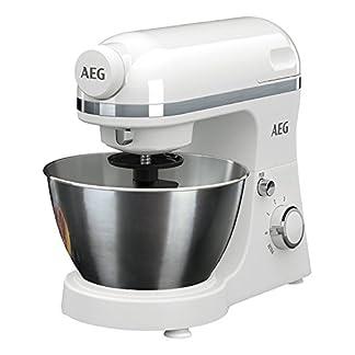 AEG-Kchenmaschine-3Series-KM3200-inkl-Standmixer-Aufsatz-6-Geschwindigkeitsstufen-Pulse-Funktion-800-Watt-wei-Zertifiziert-und-Generalberholt