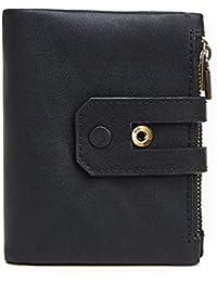 468f400643e49 Yiwuhu Ledergeldbörse Männer RFID Blockierung Bifold Zip Wallet PU Leder  Zip um Telefon Clutch große Reise