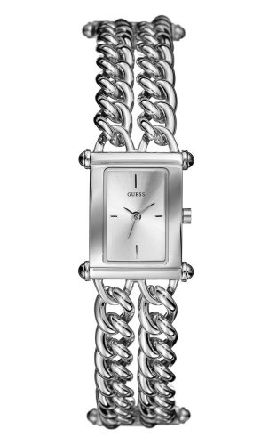 Guess 80339L1 Ladies Silver Coloured Bracelet Watch