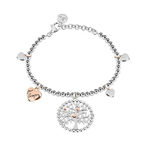 Morellato bracciale da donna, collezione talismani, in acciaio - saqe13