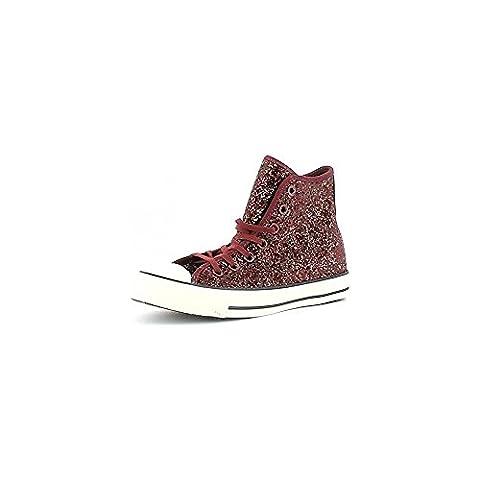 Converse - Converse All Star Chaussures de sport Femme Bordeaux Scintillement - Bordeaux, 39,5