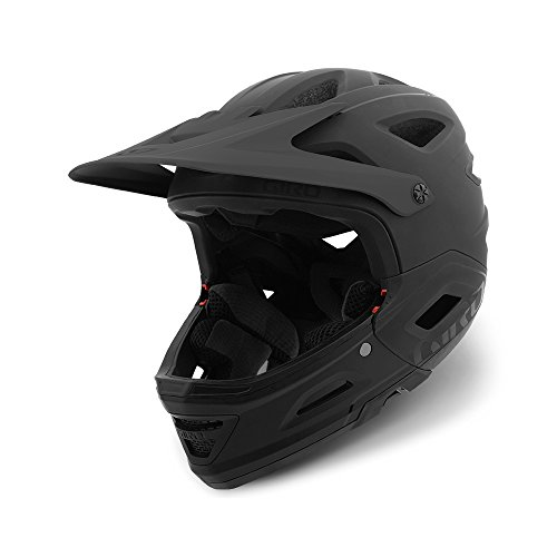 Switchblade (Giro Switchblade MIPS DH Fahrrad Helm schwarz 2018: Größe: M (55-59cm))