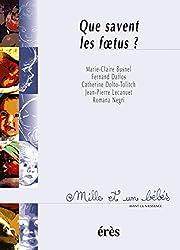 Que savent les foetus ?