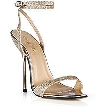CHMILE CHAU-Scarpe da Donna-Sandali Tacco Alto a Spillo-Tacco a Metallo 89dc401de0b