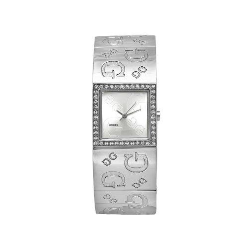Guess G2G 70607L1 - Reloj de mujer de cuarzo, correa de acero inoxidable color plata