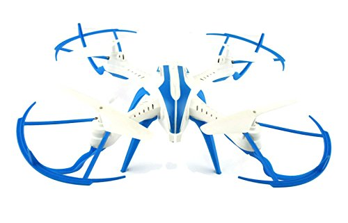 Toyshine 2.4 Ghz Remote Control Drone, 4.5 CH 6-Axis Quadcopter, Headless Mode, R/C Drone, TS-X20, White