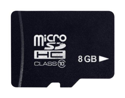 Platinum Class 10 Micro-SDHC 8GB Speicherkarte schwarz 8 Gb Handy