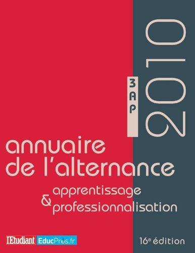 ANNUAIRE DE L'ALTERNANCE, DE L'APPRENTISSAGE ET DE LA PROFESSIONNALISATION