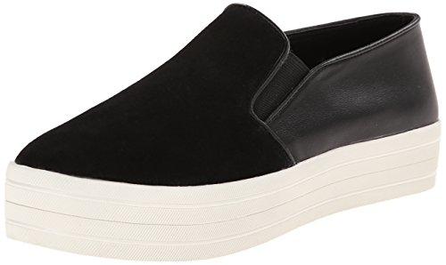 Steve Madden Damen, Funktionsschuh, buhba, schwarz (black suede), 41.0 (Wedges Madden Sneakers Steve)