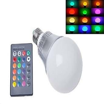 Ampoules Globe Gradable RGB/Couleurs Changeantes dingyao 1 pièce E14 10 W LED Haute Puissance 450-950 LM 2800-3500/6000-6500 K AC 100-240 , 360°