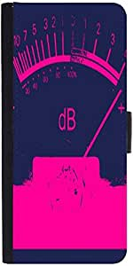 Snoogg Speed Pink Db 2917 Graphic Snap On Hard Back Leather + Pc Flip Cover S...