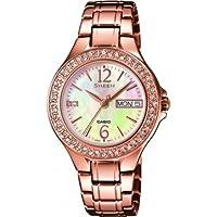 Casio Sheen–Reloj de pulsera analógico para mujer cuarzo acero inoxidable She de 4800pg de 9auer de Casio