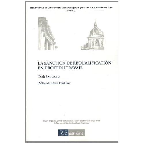 La Sanction de Requalification en Droit du Travail