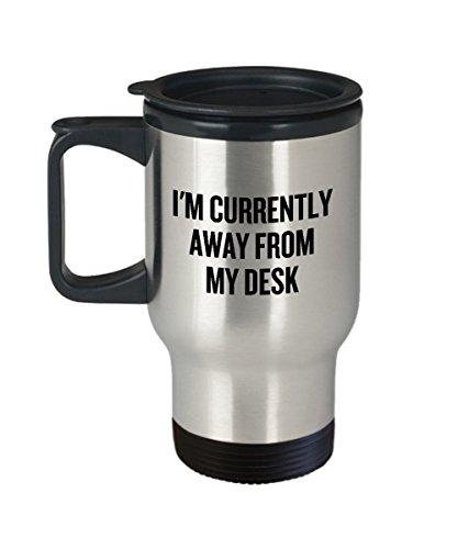 Divertida taza de secretario para regalo de oficina, regalo para compañeros de trabajo, taza de viaje