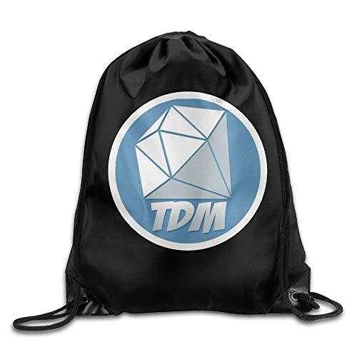 GONIESA Fashion Daniel Middleton DANTDM Logo Beautiful Pull Rope Bag One  Size