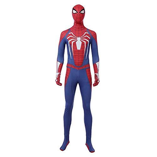Kostüm Für Verkauf Spiderman - gikmhyb Avengers 3 Spider-Man Strumpfhosen COS Steel Battlesuits Halloween Kostüme Herrenbekleidung,Blue-2XS(153to157)