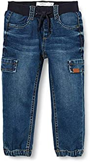 NAME IT Nmmbob Dnmcil Pant Camp Jeans para Niños