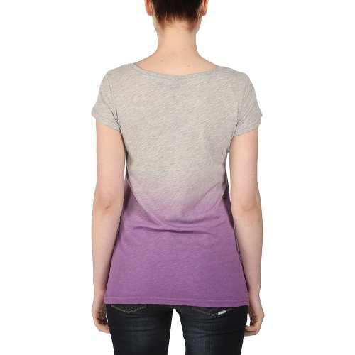 Bench T-shirt Colouring In - T-shirt de Maternité - Femme Gris (Lunar Rock Marl)