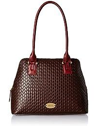 Hidesign Women's Handbag with No (Brown Marsala)