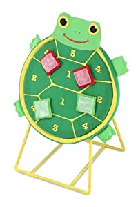 Melissa & Doug - 16160 - Jeu de Plein Air - Jeu de Cible Tortue