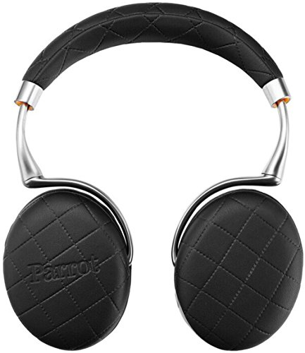 Parrot ZIK 3 by Philippe Starck Bluetooth On-Ear-Kopfhörer Stepmuster schwarz