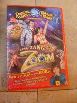 Ringling Bros. and Barnum & Bailey Circus Zing Zang Zoom 139th Edition