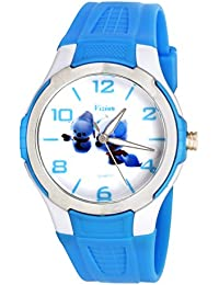 Vizion Analog Multi-Colour Dial (JONY&SIMU-The Snow Puppies) Cartoon Character Watch For Kids-V-8826-3-3