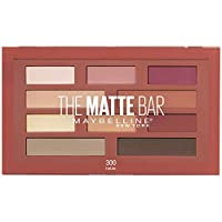 Maybelline New York The Matte Bar Eyeshadow Palette Makeup, 0.34 Ounce
