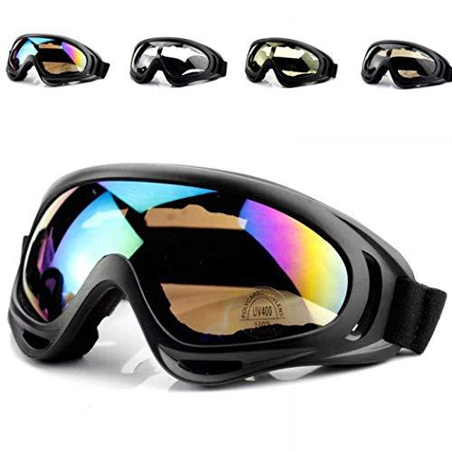 Iiloens Dauerhafte praktische Unisex-Windschutzbrille für Ski-Brillen Reinigung