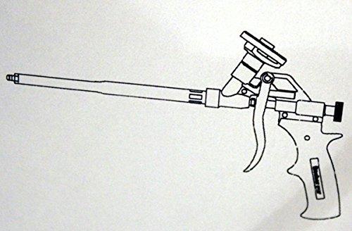 Fischer Metallpistole 726230 PUPM 4 Schwarz