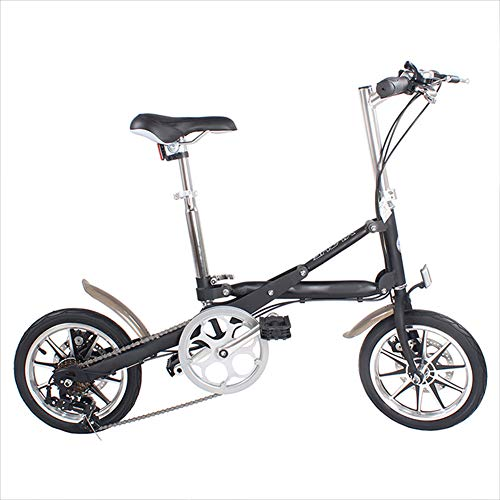 41eLWfiKakL. SS500  - Ambm Foldable Bicycle 14 Inch Adjustable