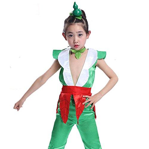 Wgwioo Kinder-Bühnen-Performance-Kleidung Umwelt Teen Jungen Mädchen Tragen Kinder Chor Gruppe Team Tanz Kostüme, 4#, 140Cm