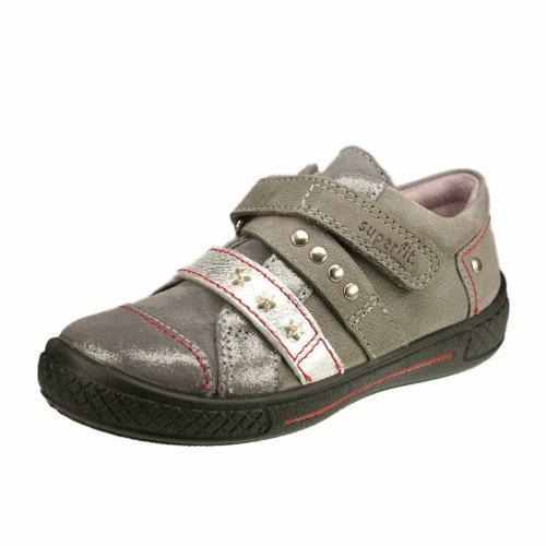 Superfit Life 10021867 Mädchen Sneaker grigio (Grau)