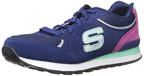 Skechers (SKEES) - Og 82 - Flynn, Scarpa Tecnica da donna, blu (nvaq), 39