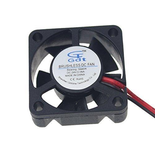 Gdstime 30mm x 30mm x 10mm Mini 24V Brushless DC Cooler Cooling Fan