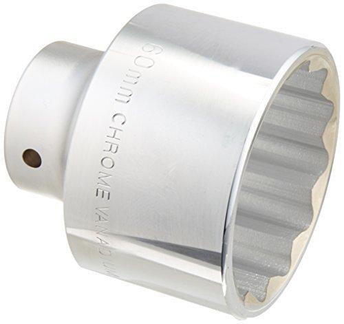 MINTCRAFT MT-SM6060 3/4-Inch Drive 12 Point Socket, 60mm by Mintcraft