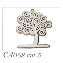 Subito disponibile 36 PEZZI Albero della vita in legno da 5 cm