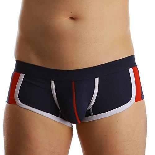 take me | Boxer Short, Hipster Short | alltagstauglich | hautfreundlich | perfekter Halt und Formgebend | Die Wäschemarke für Ihn und sein Bestes... ;-) | sapphire blue | M